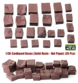 CB001  Cardboard Boxes For Dioramas (25 Pieces)