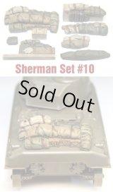 SH0010 Sherman Engine Deck Set #10 (8 Pieces)