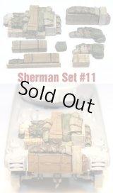 SH0011 Sherman Engine Deck Set #11 (8 Pieces)
