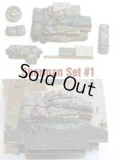 SH001 Sherman Engine Deck Set #1 (7 Pieces)