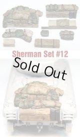SH0012 Sherman Engine Deck Set #12 (8 Pieces)