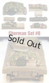 SH008 Sherman Engine Deck Set #8 (8 Pieces)