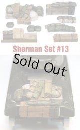 SH0013 Sherman Engine Deck Set #13 (8 Pieces)