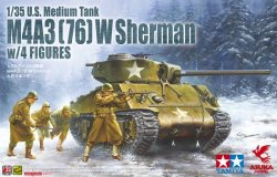 Photo1: 1/35 M4A3(76)W Sherman w/ 4 figuers   Limited Edition
